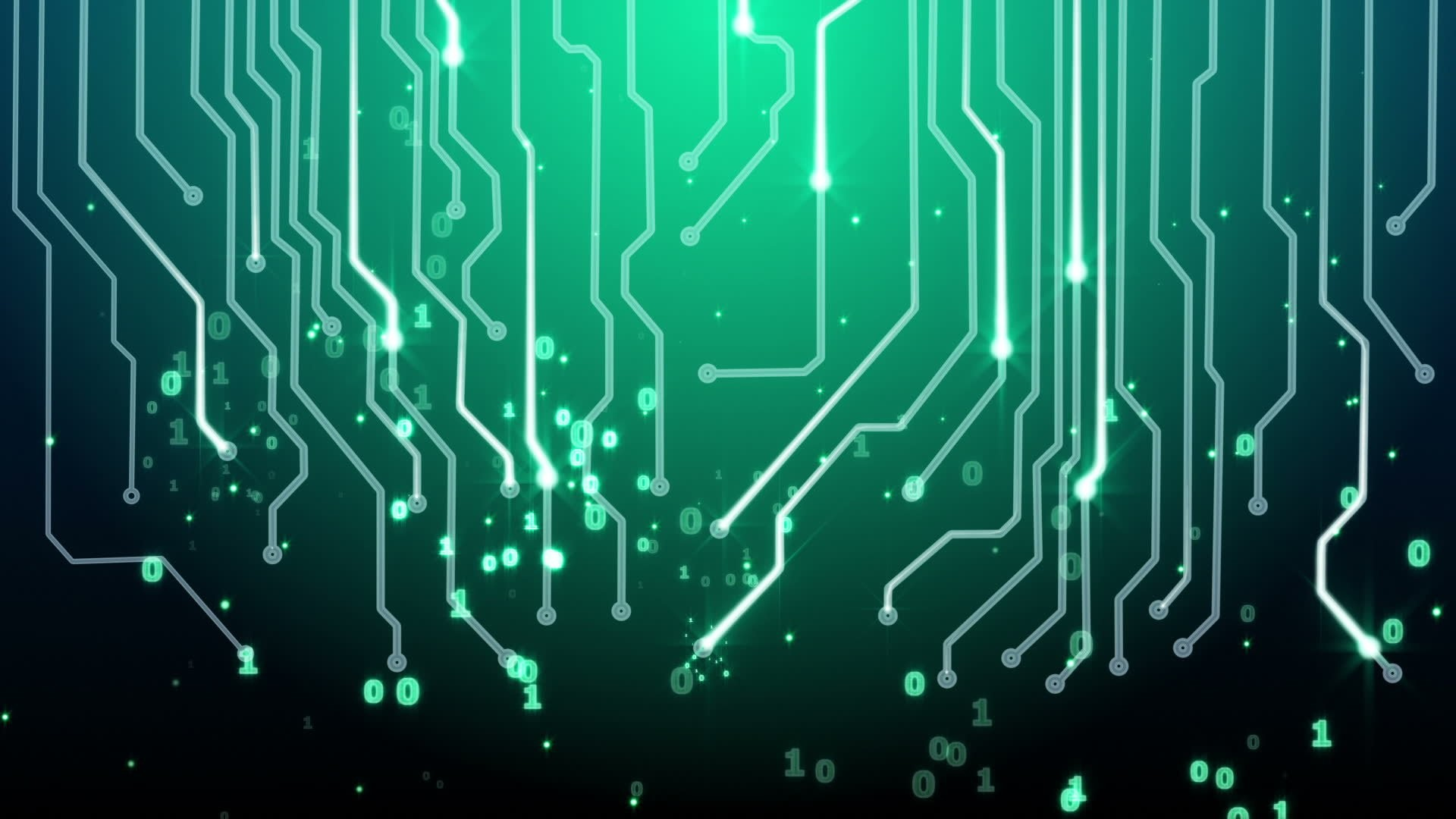 Computer Circuits Background Texture As A Design