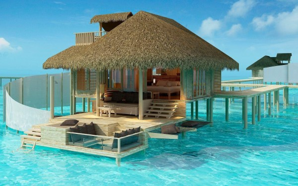 Beach Cottage Backgrounds for Desktop