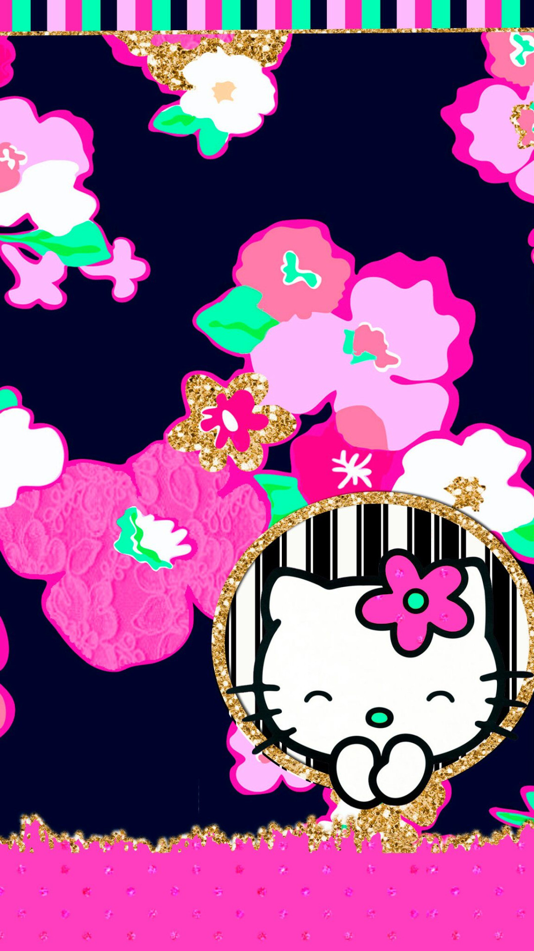 Fall Leaves Live Wallpaper Iphone Hello Kitty Fall Wallpaper 183 ① Wallpapertag