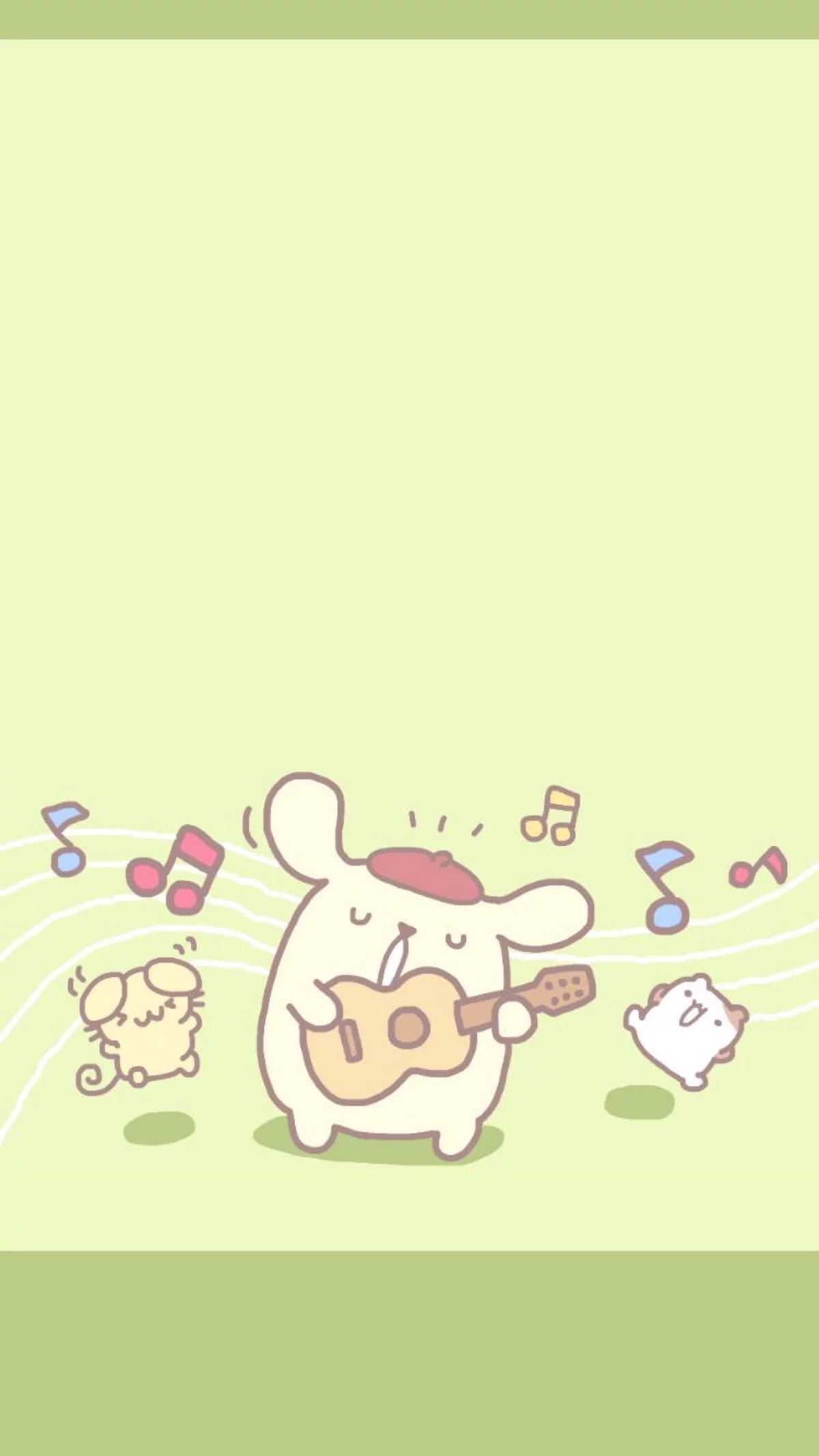 Cute Pastel Wallpaper For Iphone Sanrio Pom Pom Purin And Macaron Wallpaper 183 ① Wallpapertag