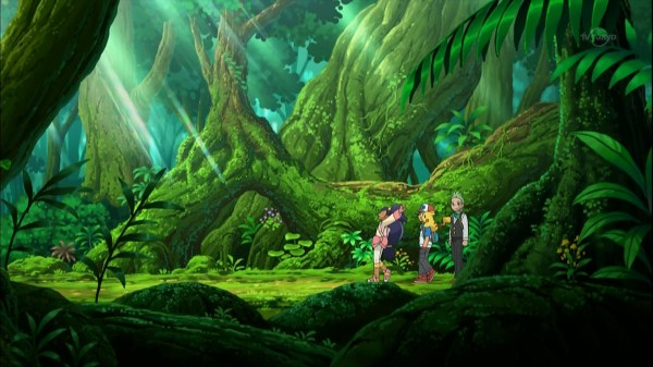 Pokemon Anime Forest