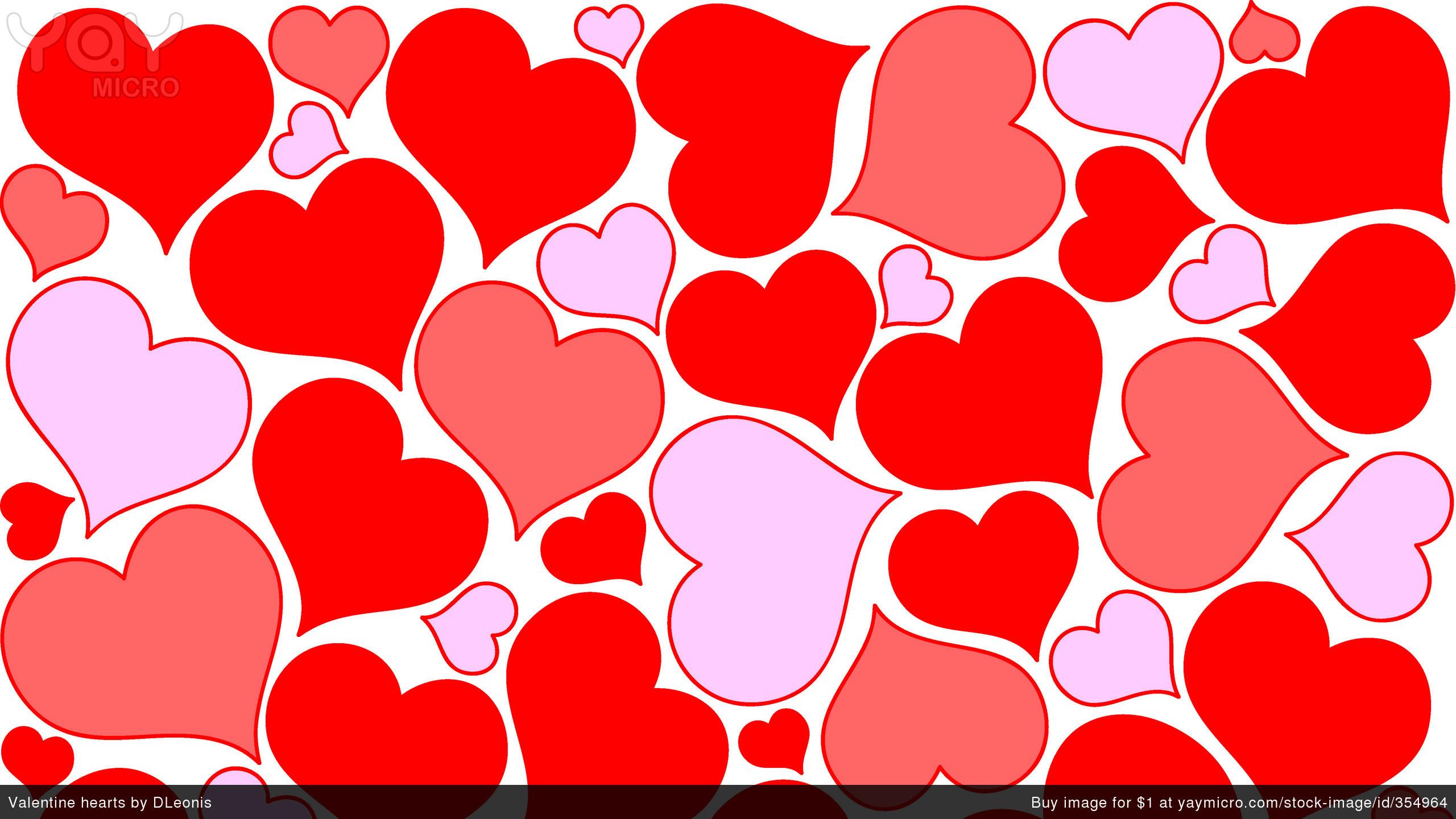Valentine Hearts Wallpaper Wallpapertag