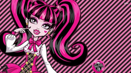 monster draculaura wallpapers background cave desktop pink resolution cartoon wallpapertag iphone cool ipad stmed games