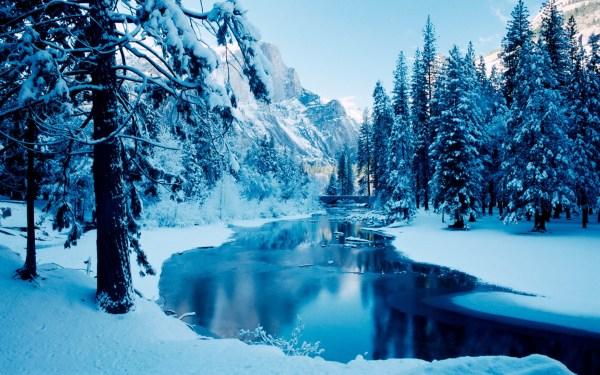 Beautiful Winter Scenes Desktop