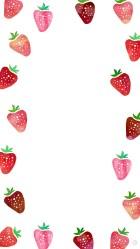 strawberry backgrounds cute wallpapers kawaii desktop shortcake strawberries dress ipad phone smartphone background downloads rilakkuma pattern iphone watercolor pc emoji