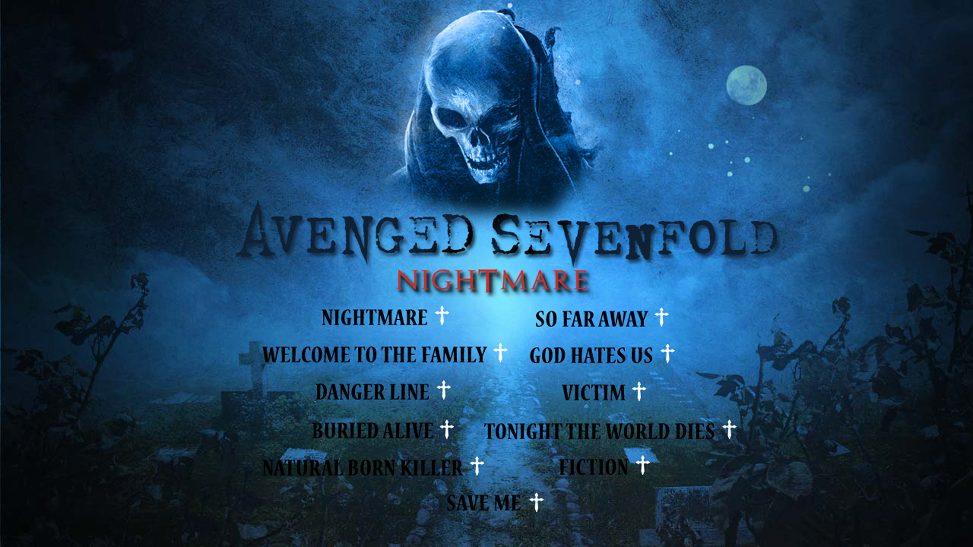 avenged sevenfold hd wallpaper