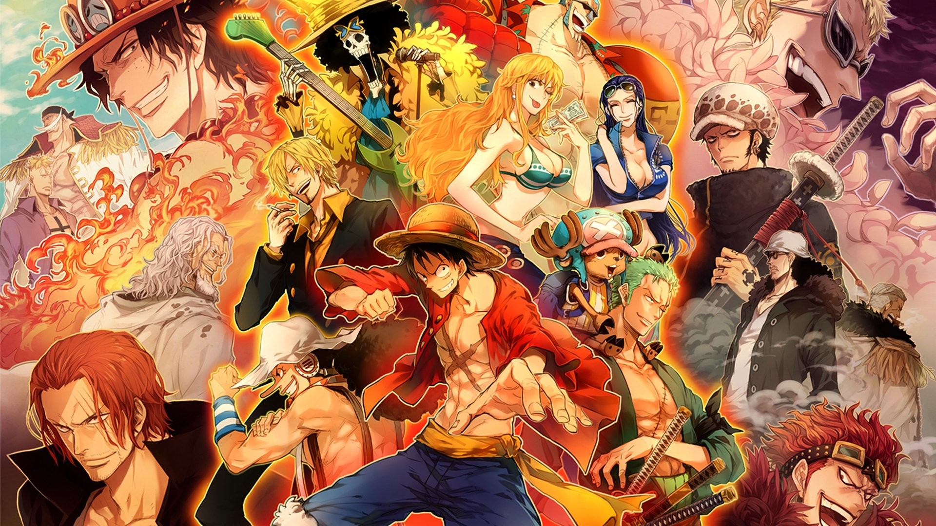 Are there any other cool ideas on how to display a poster? One Piece Wallpaper Wanted ·① WallpaperTag