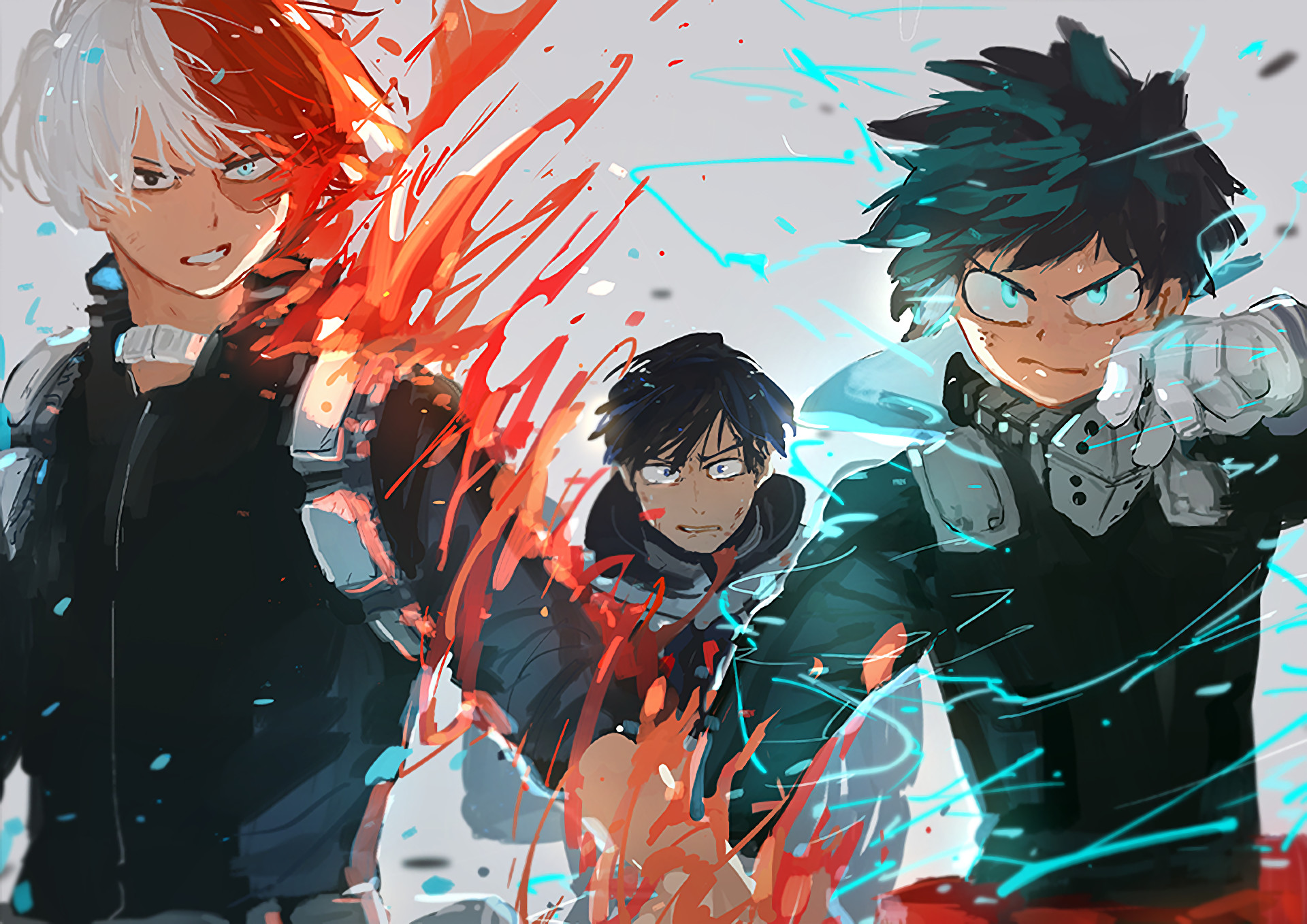 I love every emotion they throw at you every single damn episode from season 1 to season 2 i am always at the edge of my. Boku No Hero Academia Wallpapers ·① WallpaperTag