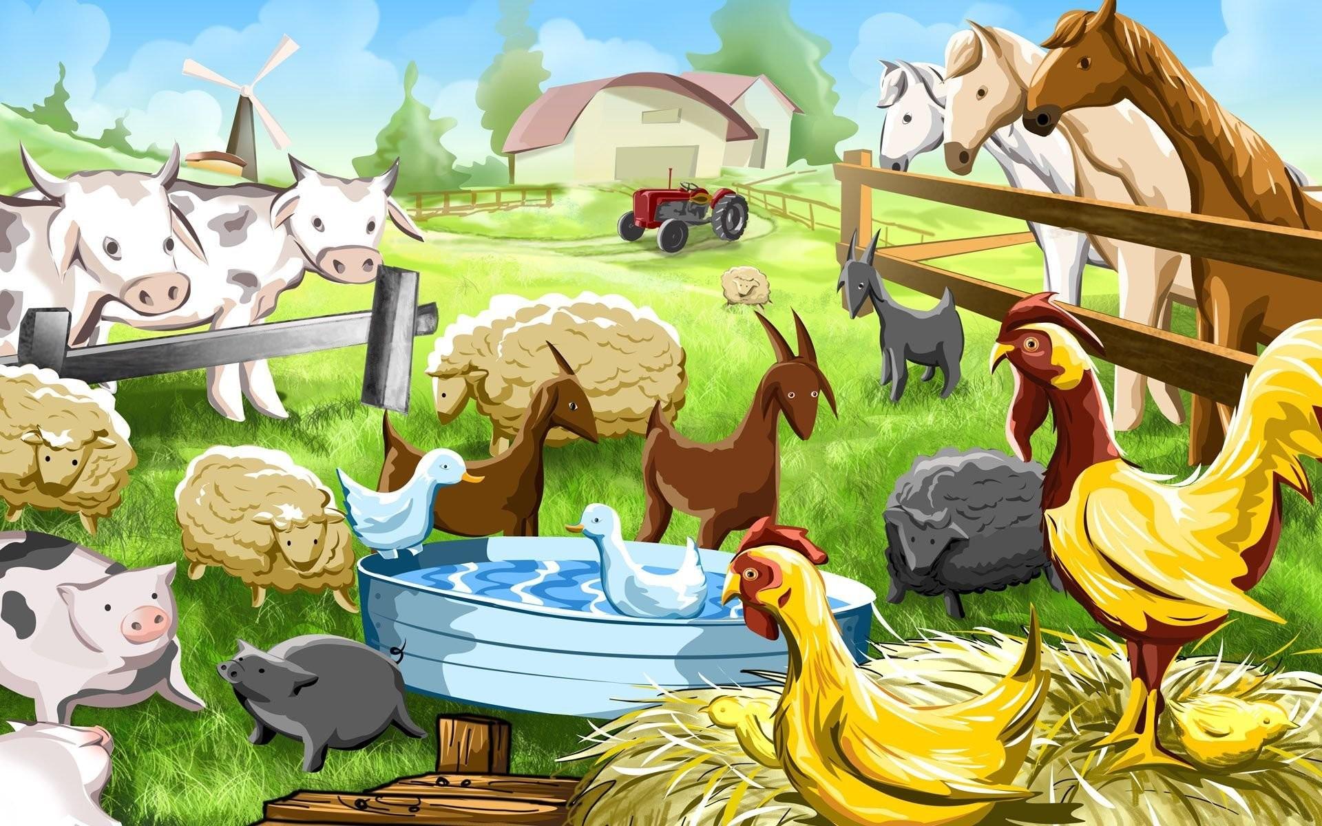 Farmyard Worksheet