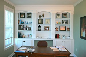 office cabinets interior space background custom built offices cabinetry desktop desk decor cabinet spaces salon sales display deacon carpentry bookshelves