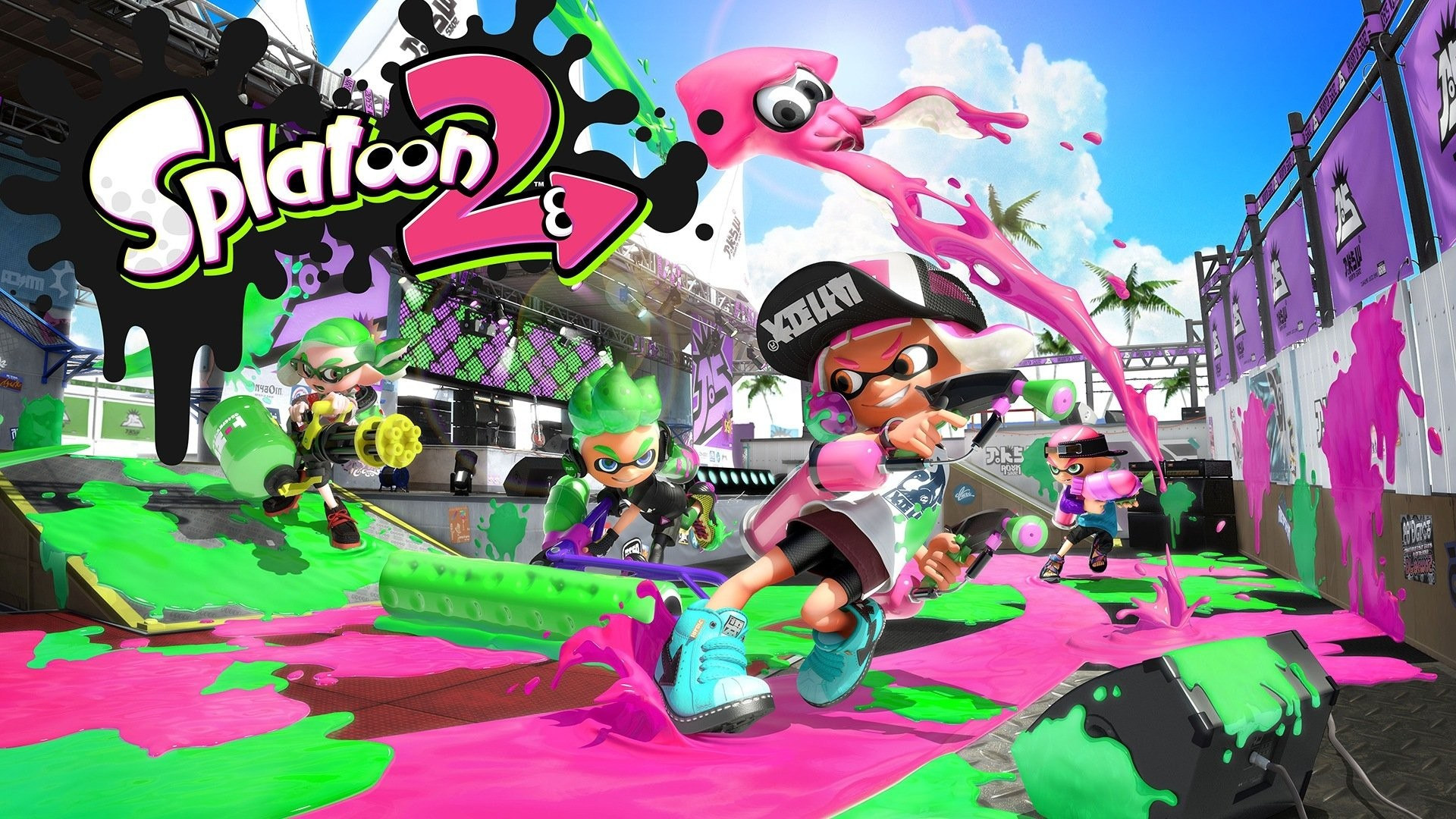 Nintendo Wallpaper Iphone X Splatoon Background 183 ① Download Free Awesome Full Hd