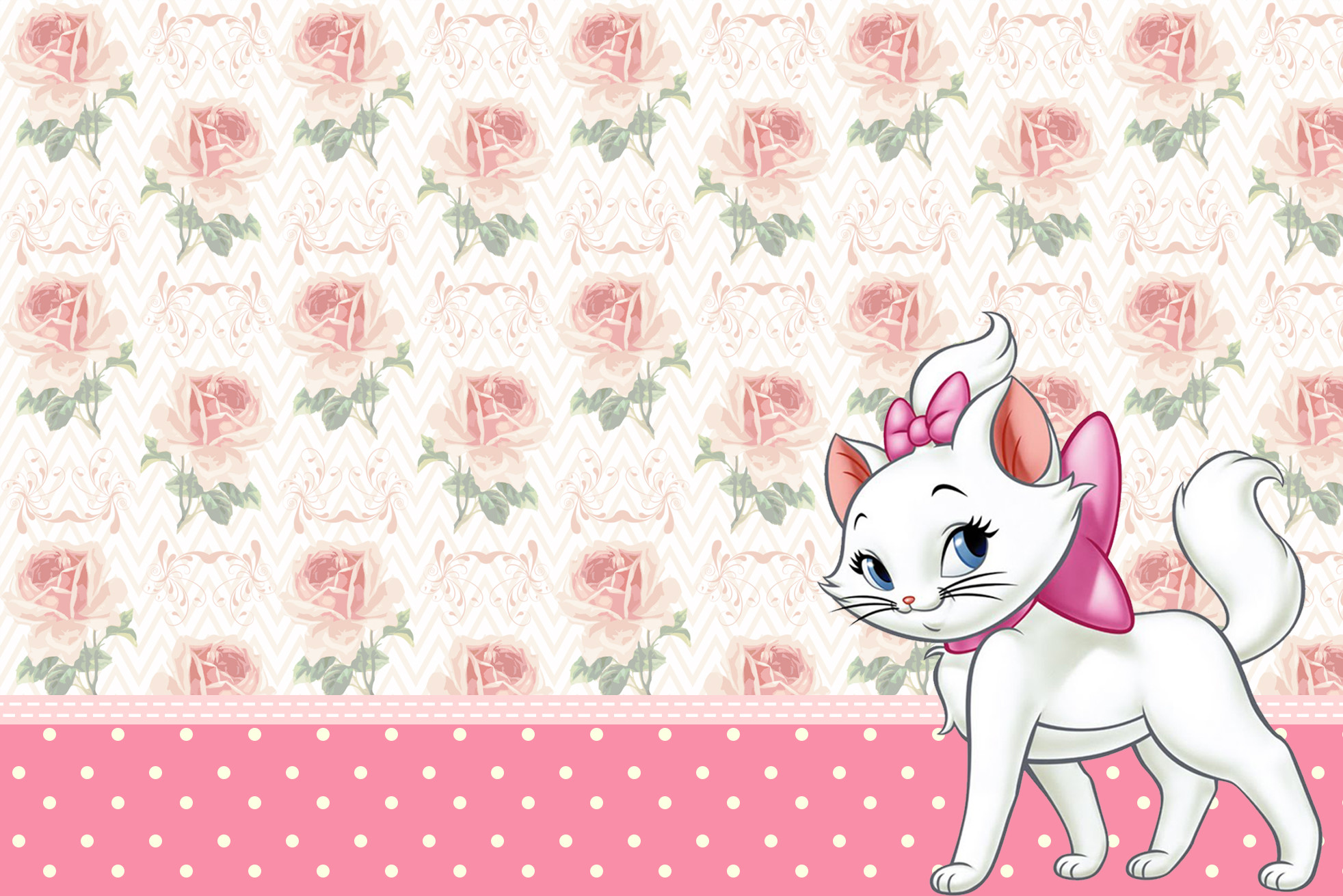 Cute Hello Kitty Wallpaper Cell Phone Marie Aristocats Wallpaper 183 ① Wallpapertag