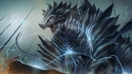 lightning dragon wallpapers hd dragons 1080p wallpapersafari anime desktop demons background pc battles backgrounds artwork latest fantasy monsters 52dazhew wallpapertag