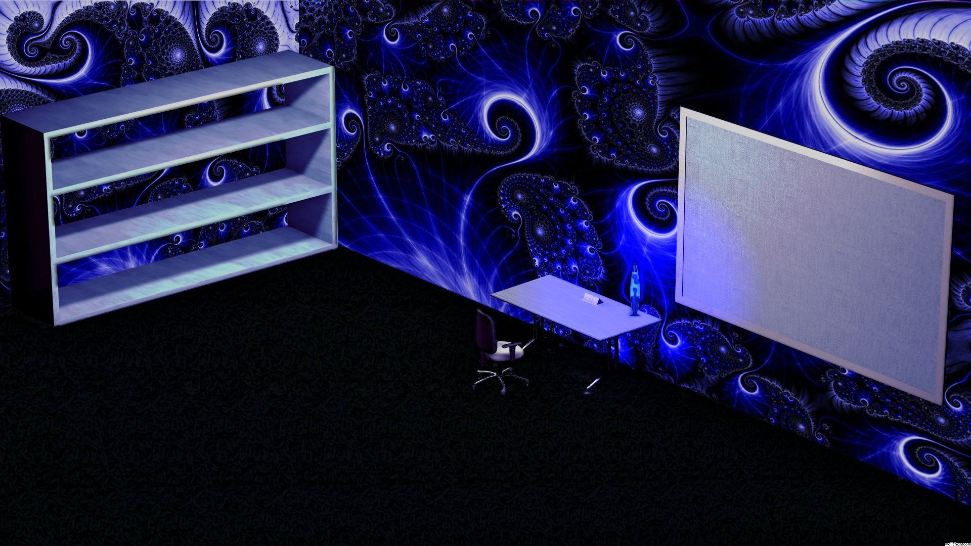 3d Bookcase Wallpaper The Office Desktop Wallpaper 183 ① Wallpapertag