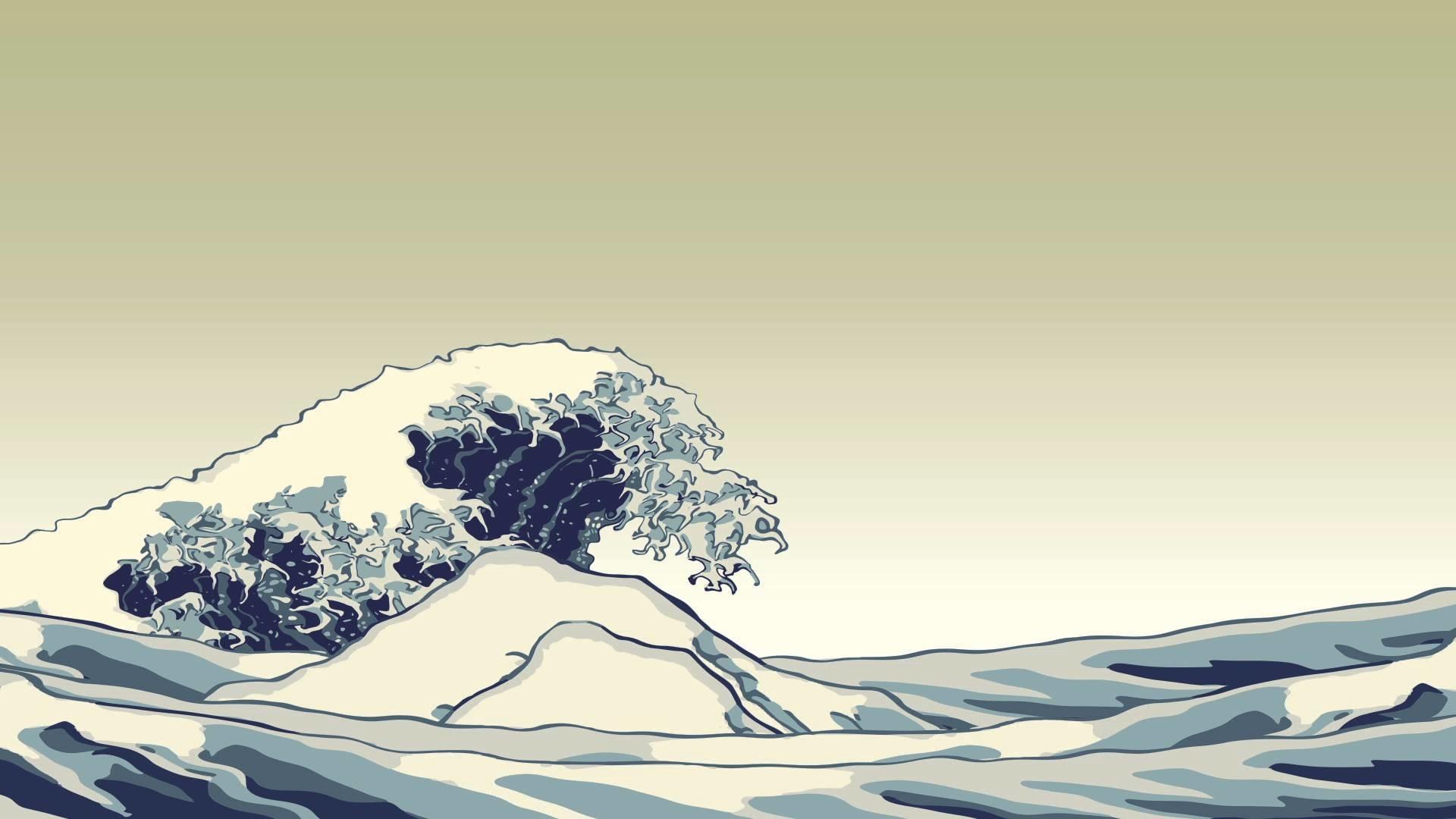 Free Falling Snow Wallpaper Download Ukiyo E Wallpaper 183 ① Wallpapertag