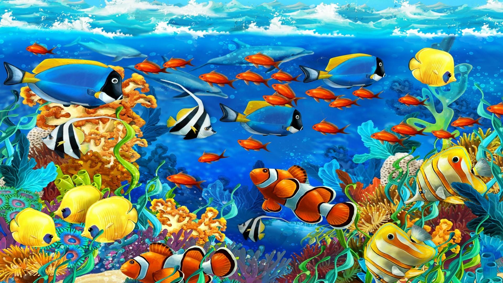 Koi Fish 3d Animated Wallpaper Tropical Fish Backgrounds 183 ① Wallpapertag