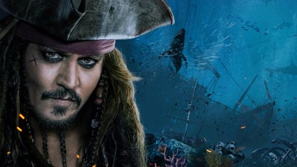 Jack Sparrow Pirates of the Caribbean Dead Men Tell No Tales