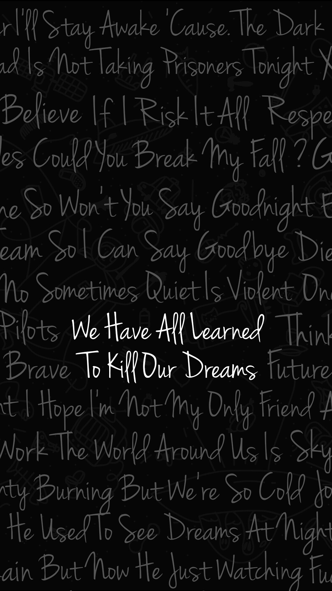 Fall Out Boy Wallpaper Lyrics Twenty One Pilots Wallpaper 183 ① Download Free Full Hd