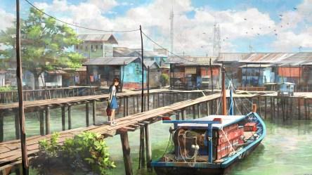 anime scenery 4k desktop wallpapers iphone laptop wallpapertag