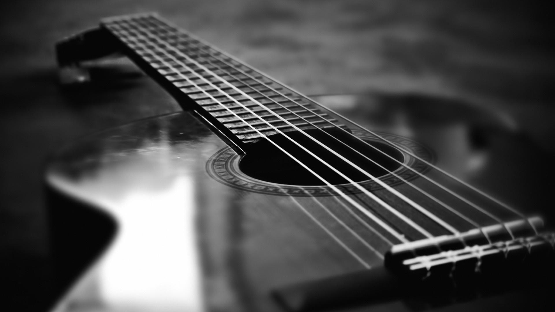 acoustic guitar wallpaper download