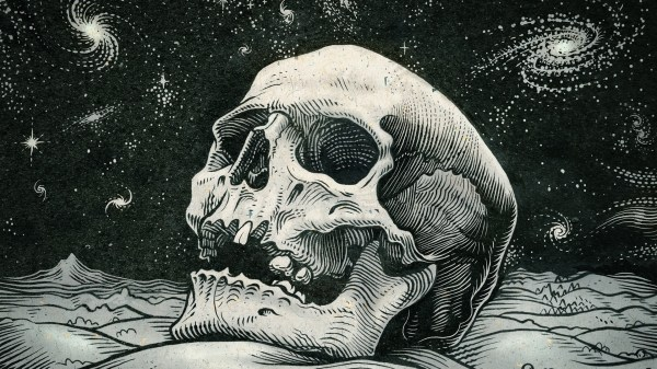 Desktop Wallpaper Skull Art