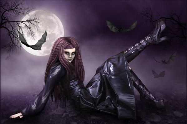 Gothic People Goth Girl