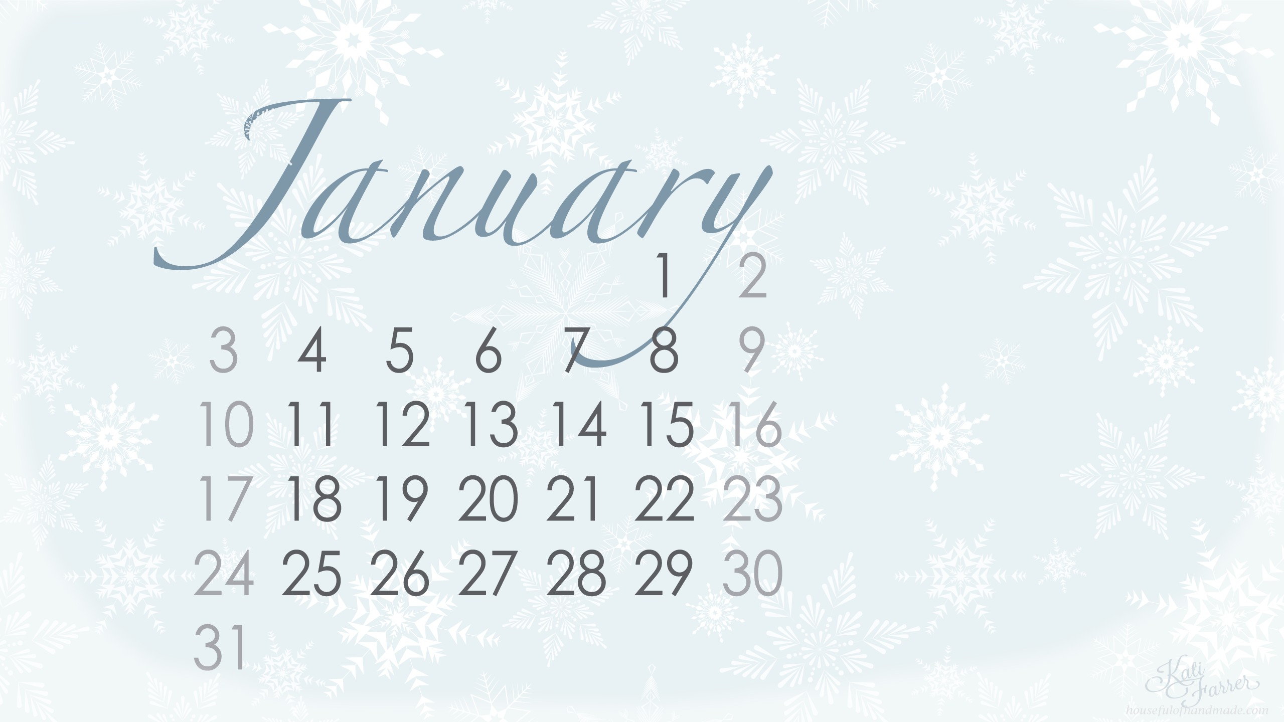 January background ·① Download free cool High Resolution
