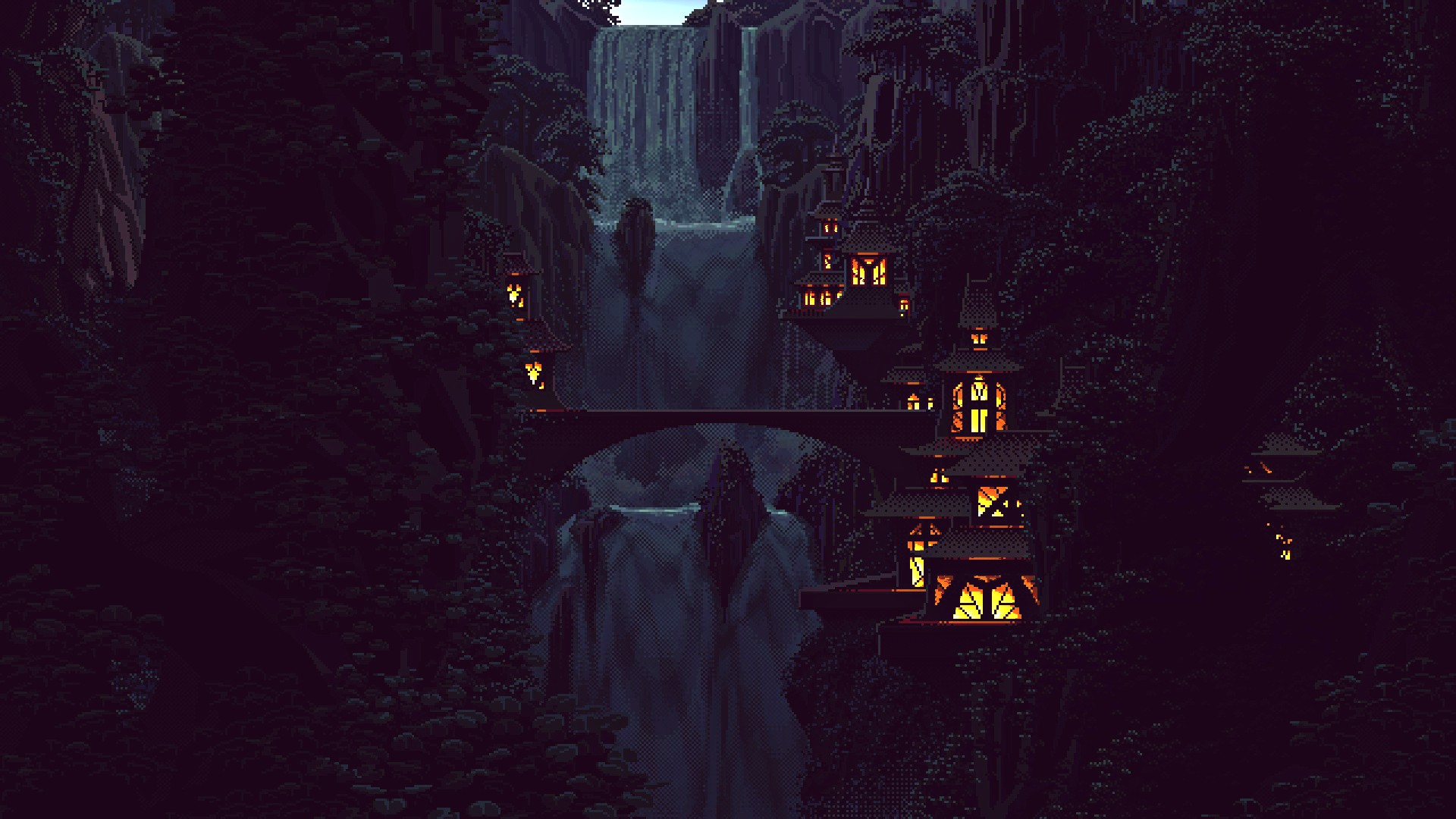 Pixel Landscape Background Tumblr Download Free Full HD Wallpapers For Desktop Mobile
