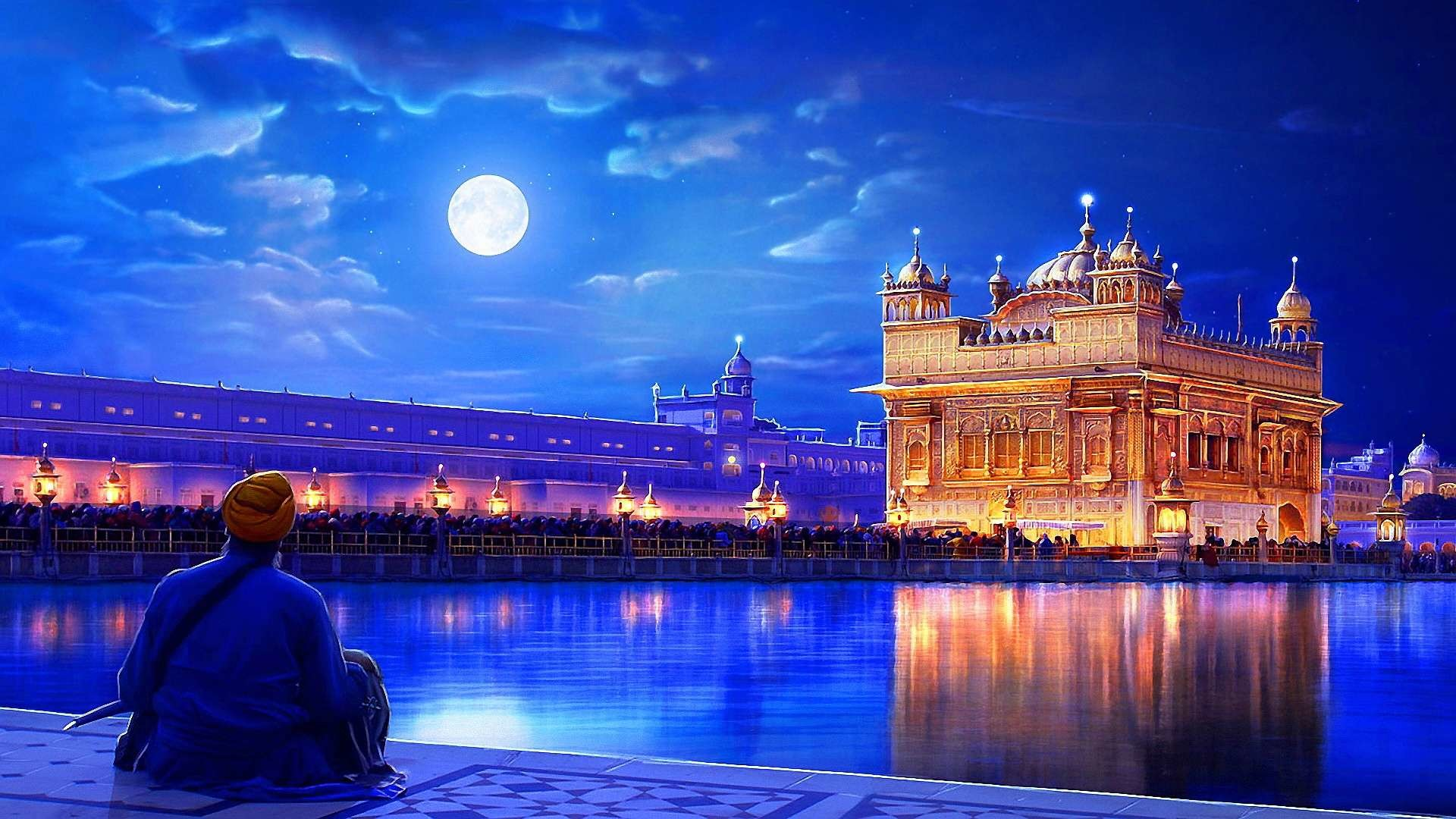Taj Mahal Pictures Scenic Travel Photos: Taj Mahal At Night Wallpaper