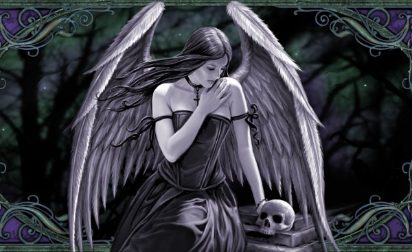 Anne Stokes Gothic Angel Art