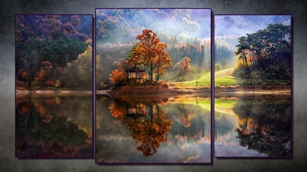 Nature Modern Art