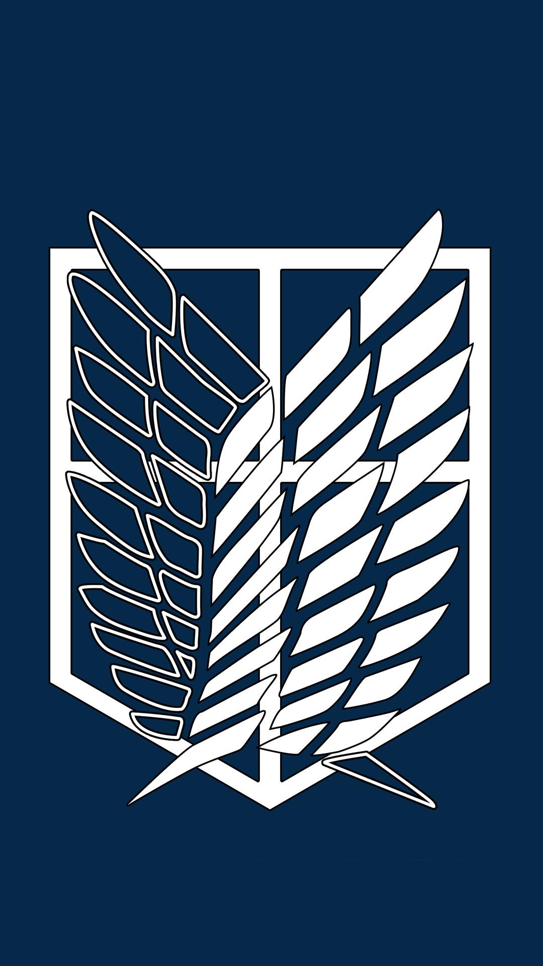 Survey Corps Logo Wallpaper Hd