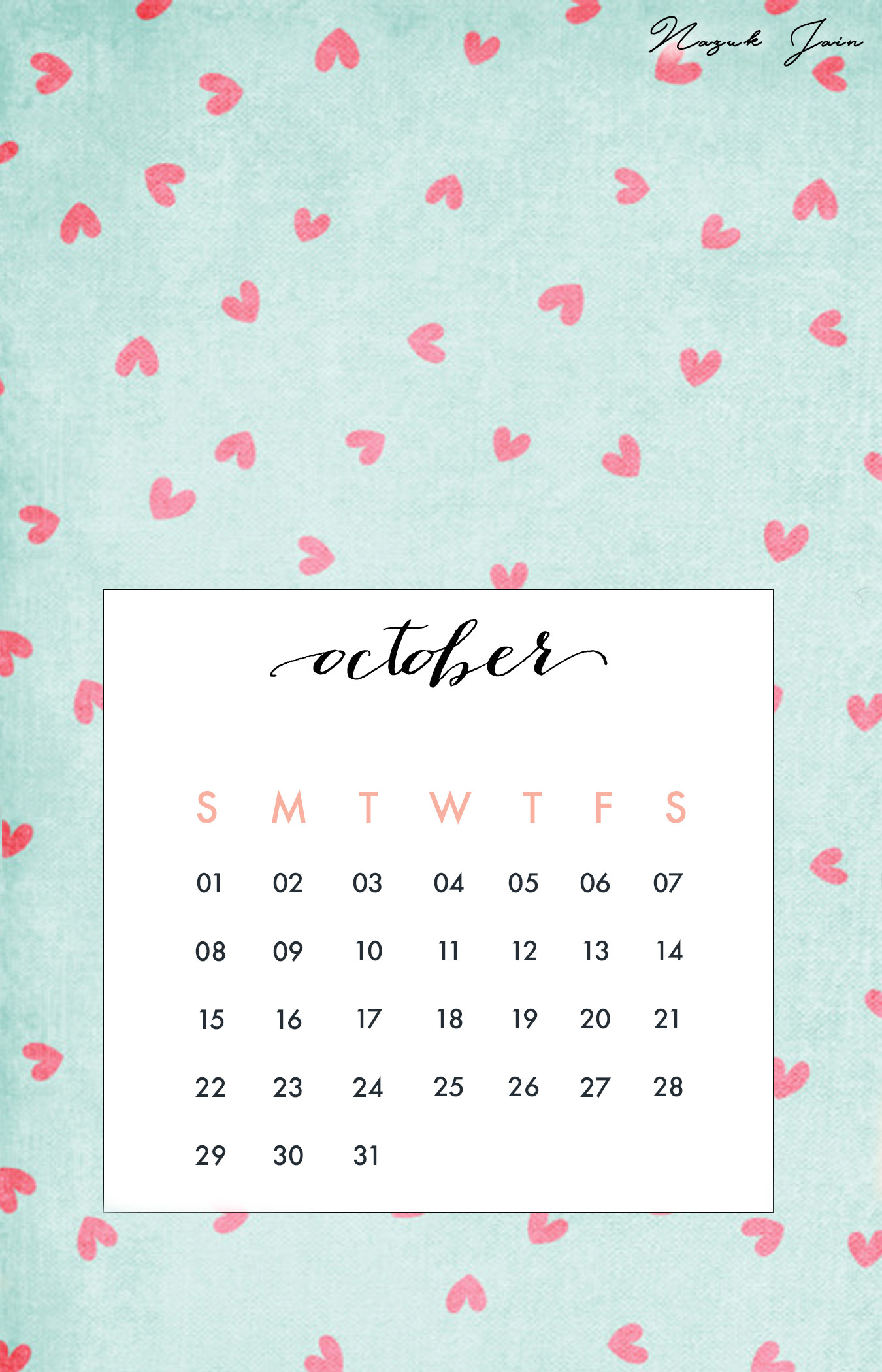 Desktop Wallpapers Calendar April 2018