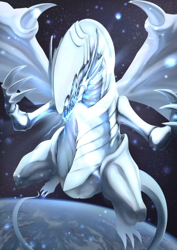 Blue Eyes White Dragon Anime
