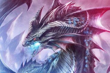 dragon purple electric wallpapers wallpapertag