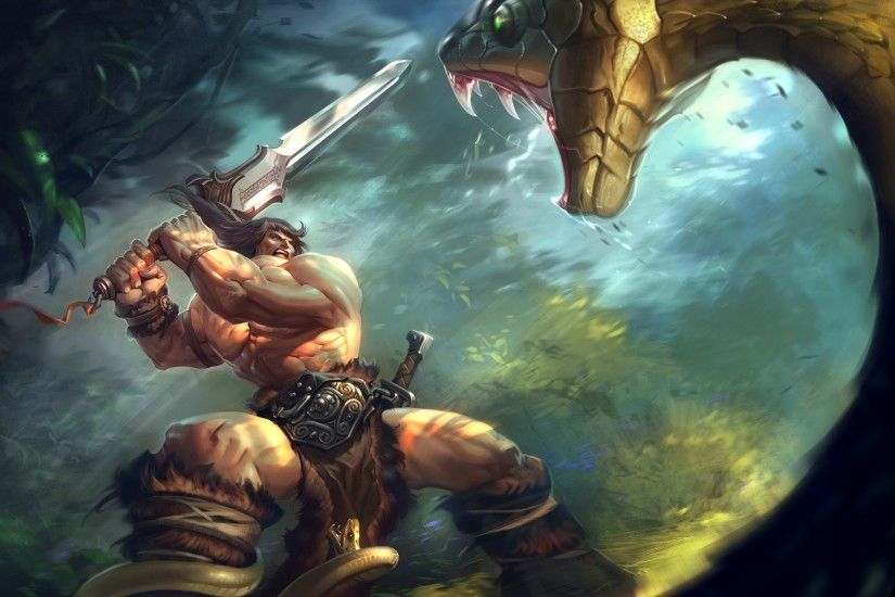 Animated Jungle Wallpaper Barbarian Wallpaper 183 ① Wallpapertag