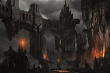 fantasy castle dark wallpapers landscapes landscape iphone horror resolution hd halloween cool wallpapertag desktop android ruins laptop awesome mobile px