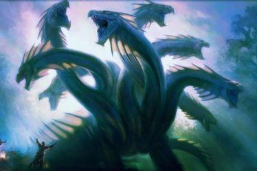 wallpapers magic mtg mythical creatures gathering hd mythology most land kraken greek game hydra lernean jason wallpapertag desktop backgrounds five