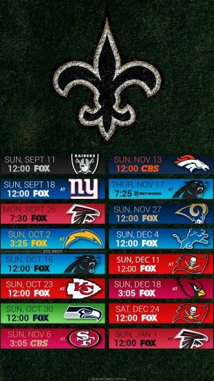New Orleans Saints Iphone Wallpaper Lsu Football Schedule 2018 Wallpaper 183 ① Wallpapertag
