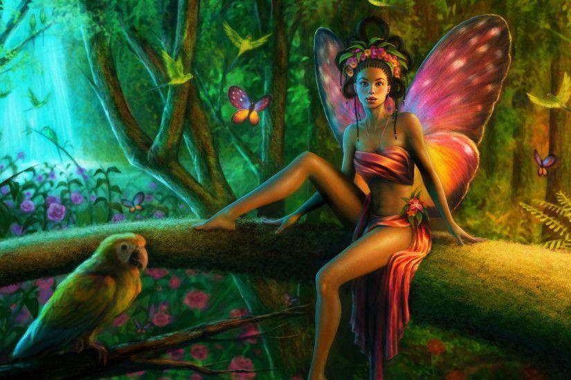 Cute Angel Girl Wallpaper Beautiful Fairies Wallpapers 183 ① Wallpapertag