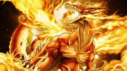 Fire Dragon Wallpapers 3d 1366x768 Download HD Wallpaper WallpaperTip