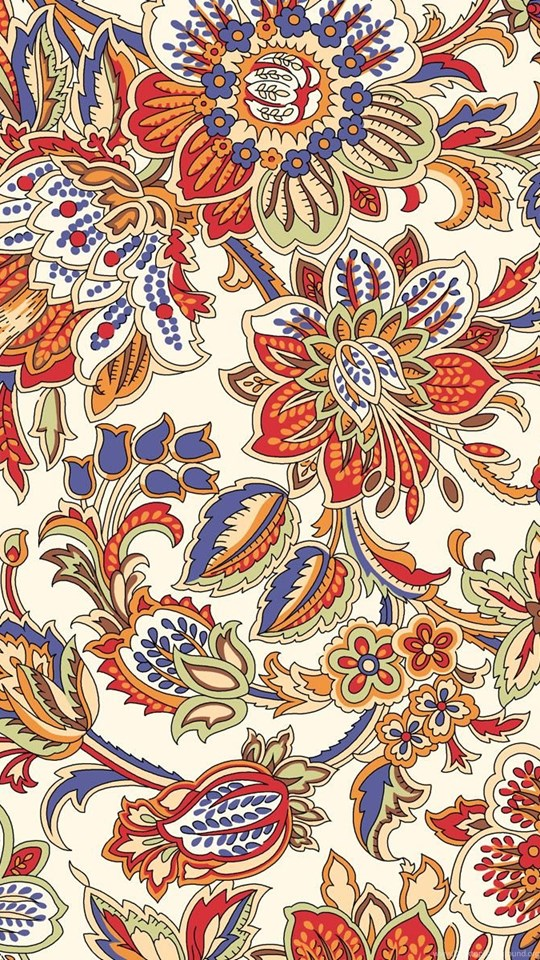 Batik Background Hd : batik, background, Batik, Pattern, Wallpapers, 540x960, Download, Wallpaper, WallpaperTip