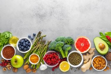 Simple Healthy Food Background 590x393 Download HD Wallpaper WallpaperTip
