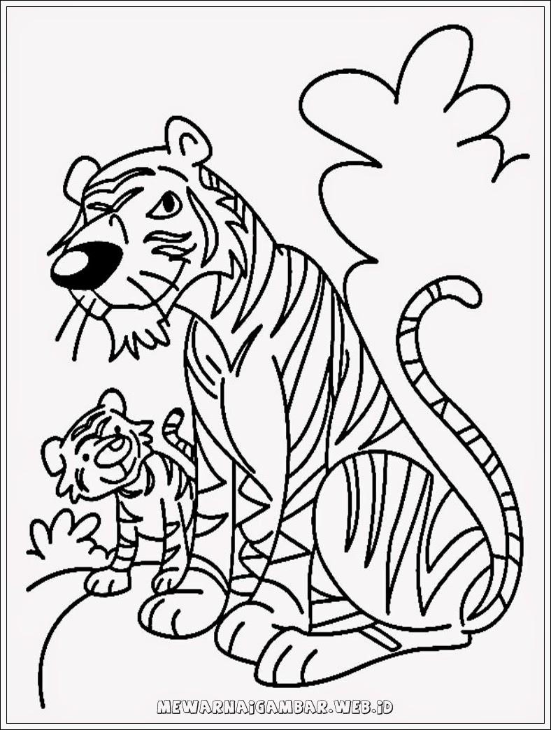 Mewarnai Gambar Harimau : mewarnai, gambar, harimau, Mewarnai, Gambar, Harimau, 788x1044, Download, Wallpaper, WallpaperTip
