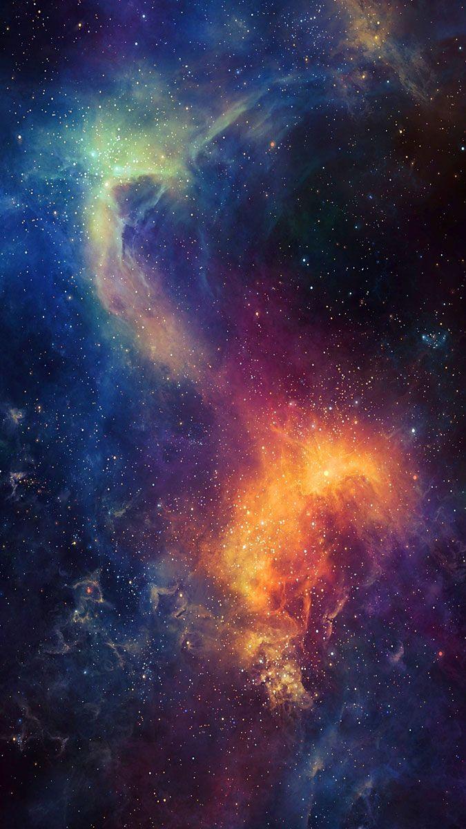 Fond Ecran Espace 4k : ecran, espace, D'écran, Espace, Portrait, Galaxie, Spatiale, 675x1200, WallpaperTip