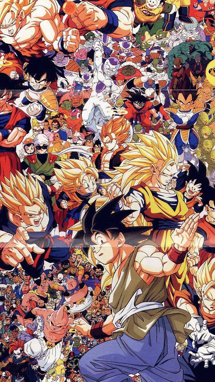 All Anime Characters Wallpaper : anime, characters, wallpaper, Anime, Character, Wallpaper, Iphone, 750x1334, Download, WallpaperTip