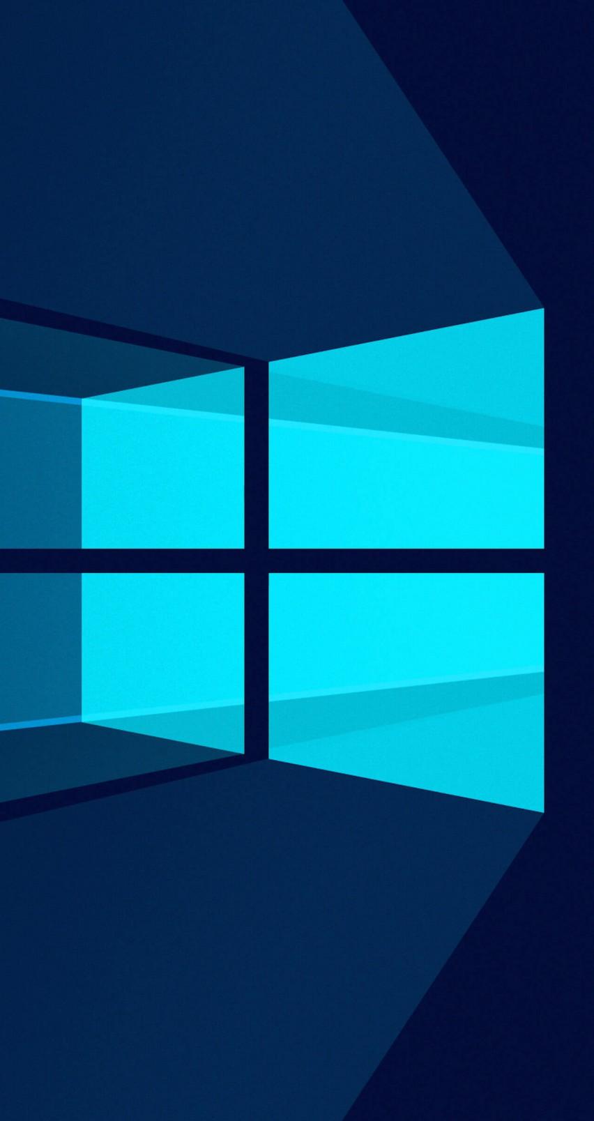 Fond D'ecran Windows 10 : d'ecran, windows, Fenêtres, D'arrière-plan, Claires, D'écran, Windows, Mobile, 852x1608, WallpaperTip