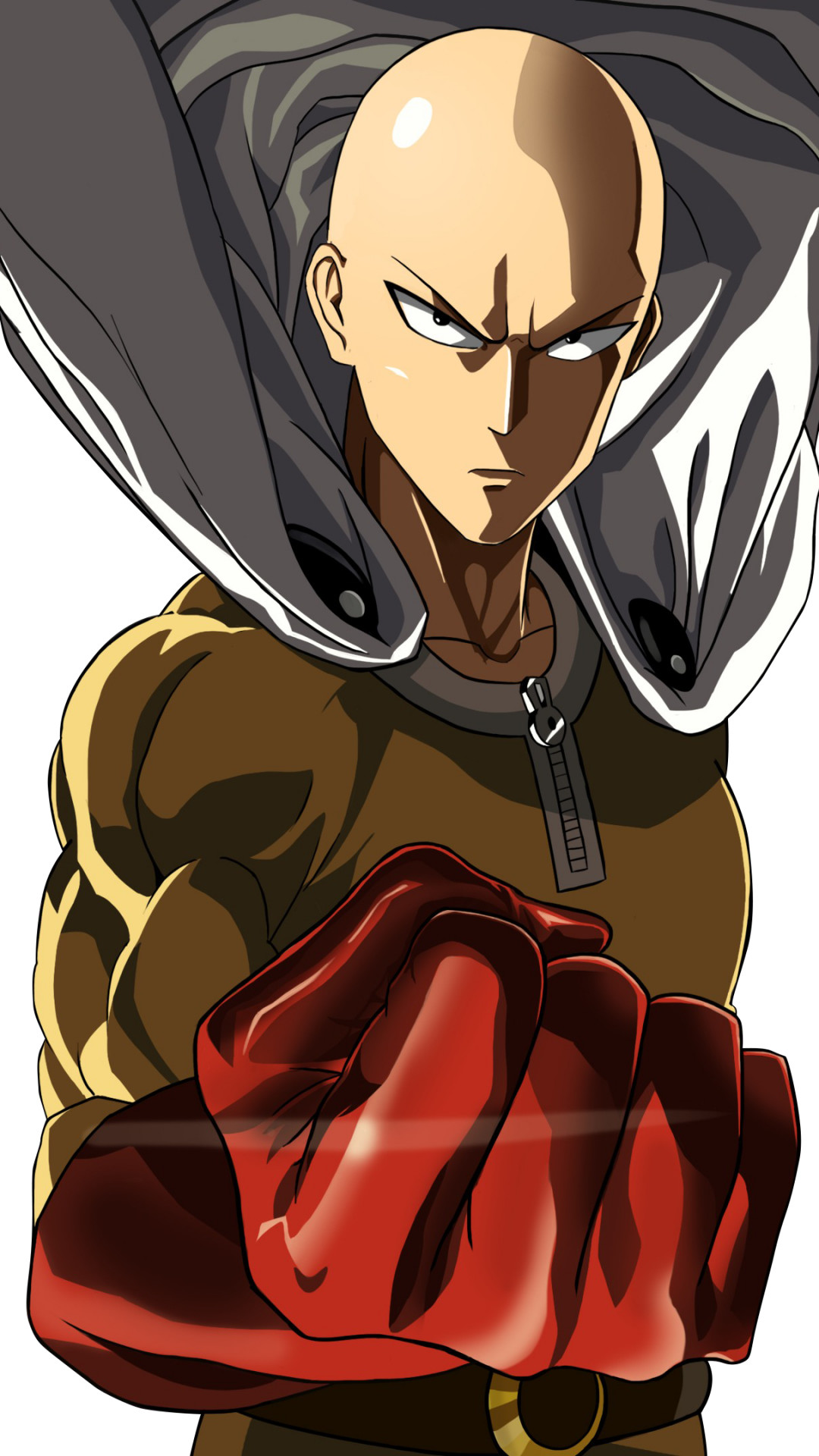 Download One Punch Man Sub Indo Mp4 : download, punch, Wallpaper, Saitama, Serious, Anime, Punch, Doraemon