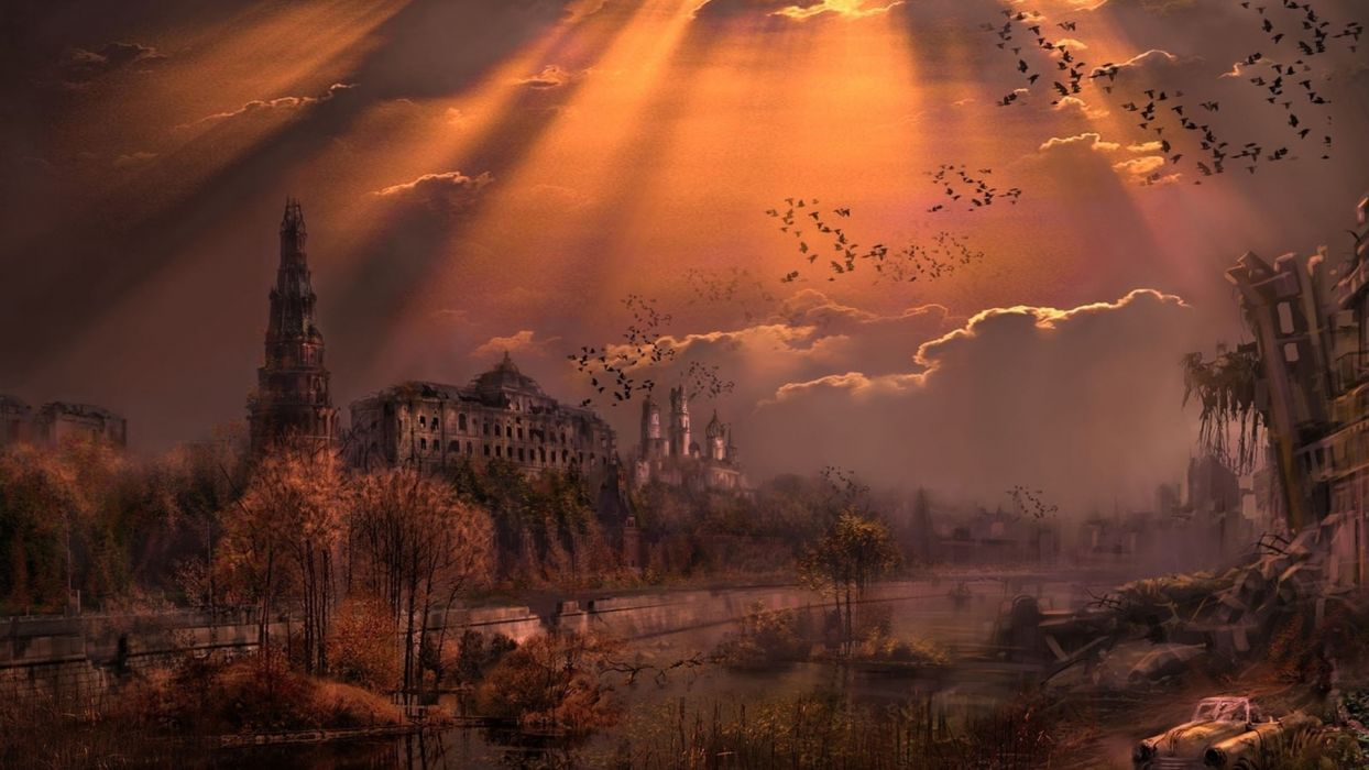 Nuclear Union Post Apocalyptic Apocalypse Destruction