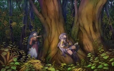 forest anime fantasy trees tree wallpapers bosco fairy naturale smile wallpaperup habitat flora mythology autumn rainforest foresta fata ombreggiatura pianta